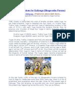 Amazing Predictions for Kaliyuga