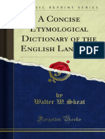 A Concise Etymological Dictionary of the English Language 1000228636