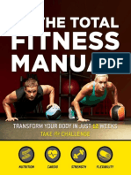 The Total Fitness Manual - Transform Your Body in Just 12 Weeks