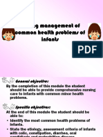 1. Nursing Management of Common Health Problems of Infants
