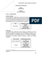 Reglamento de Graduación USIP