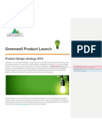 Greenwell Product Launch Overview