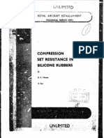 compression set resistance in silicon rubbers royal air force