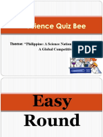 Science Quiz Bee Elimination