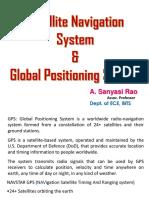 Satellite Navigation System_ASRao