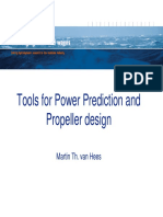 Tools for Power Prediction and Propeller Design