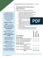 Advanced Database Development CSC