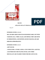 Blood Script Adaptation