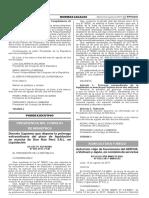 Decreto Supremo que dispone la prórroga extraordinaria del plazo de liquidación en marcha de Doe Run Perú S.R.L. en Liquidación