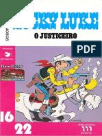 Coleccao 16x22 - PT0007 - Lucky Luke, o Justiceiro