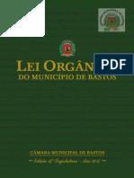 Lei Orgânica do Município  de Bastos