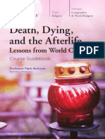 Death Dying and Afterlife in World Cultures