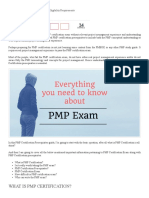 PMP Certification Prerequisites – PMP Eligibility Requirements