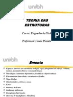 Teoria das Estruturas_1° Aula_Turma CMB