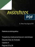 3 - Analalgesicos e Ansioliticos