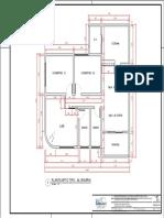 CAD Planta Apartamento ALVENARIA