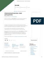 Administración Del Proyecto – Tareas Universitarias