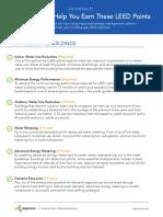 AQ LEED Points Checklist