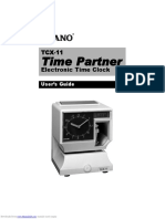 Time Partner Tcx11