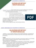 Metody Terapii Manualnej Kregoslupa