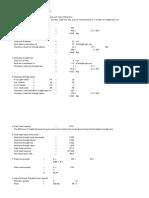 Hydraulic Calculation for Transfer Pump