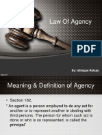 Chapter 6 Law of Agency