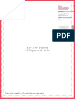 Booklet Layout Template 32pagesunder 85x11