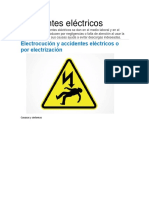Accidentes eléctricos