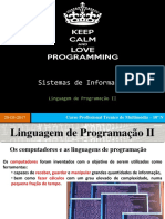 3 - Linguagem de Programação II