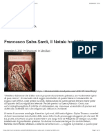 Francesco Saba Sardi, Il Natale ha 5000 anni | libririsorti
