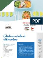 Cebiche de Caballa Al Estilo Norteño / SASMI PERU