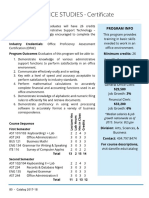 Gen Office Studies Certificate
