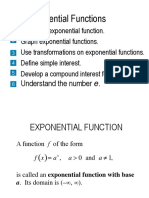 Exponential and Logarithmic Functions_0