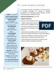 Culinary Arts CSC