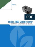 BAC Torre de Enfriamiento Series 3000 IOM