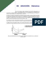 Tuberías de Aducción Calculo Del Costo Anual