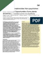 Les Phyto-cannabinoïdes non-psychotropes, les nouvelles opportunités d'une plante ancienne