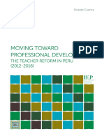 Moving Toward Professional Development
