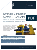 PRS - Diverless Connection System - Horizontal