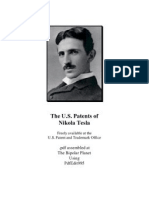 The U.S. Patents of Nikola Tesla