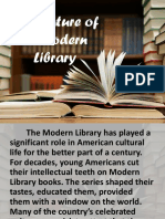 The Nature of a Modern Library