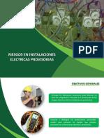 p.r. Eléctricos en Instalaciones Provisorias