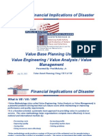 Value Base Planning Using Value Engineering Value Analysis Value Management_20100113_143402