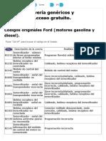 Ford Codigos DTC