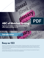 ABCs of Matched Betting