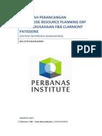 Makalah Perancangan Enterprise Resource Planning Erp - Dani Marendianto