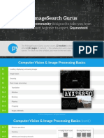 Pyimagesearch Gurus Syllabus
