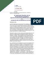Silva Soler Joaquin - El Implicado Filosofico De La Hermeneutica Teologica - Bernhard Welte.docx