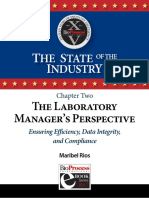 Ch 2 the Laboratory Manager's Perspective Ensuring Efficiency, Data Integrity, And Compliance