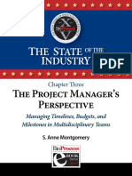Ch 3 the Project Manager's Perspective Managing Timelines, Budgets and Milestones in Multidisciplinary Teams